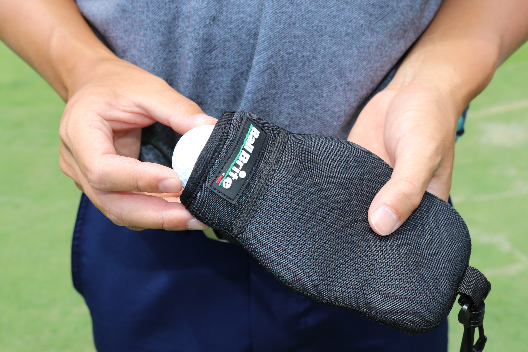 Ballbrite The Best Portable Golf Ball Cleaner